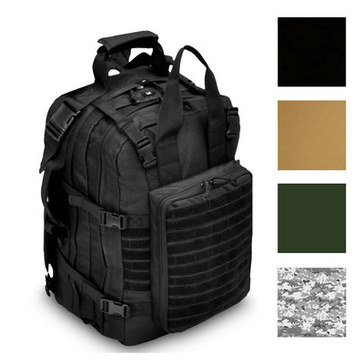 Every Day Carry Tactical Medic First Responder Backpack with Multiple Pockets