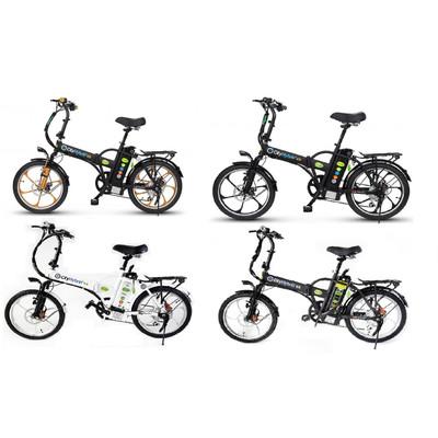 GreenBike Electric Motion 2018 City Hybrid 350W 48V Folding Electric Bike