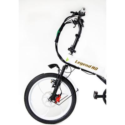 Green Bike Electric Motion Legend HD Motorized Foldable Bike