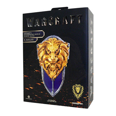 Swordfish Tech Warcraft Lothar's Stormwind Shield 3,360mAh External Power Bank