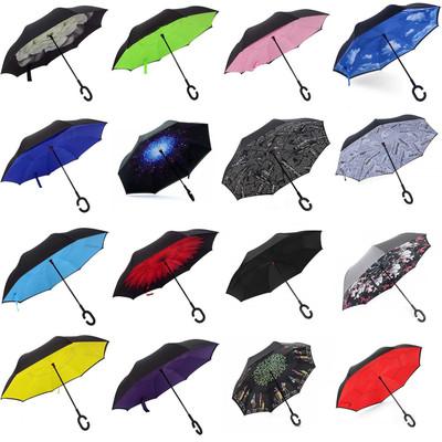 Alta Inverted Design C Handle UV, Water, Wind Resistant Umbrella