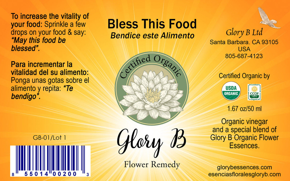BLESS THIS FOOD  used to increase your food's nutritional value