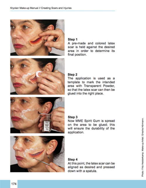 kryolan make up manual makeup supples for the pro artist