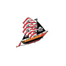 "72"" 3D Pirate Ship Kite"