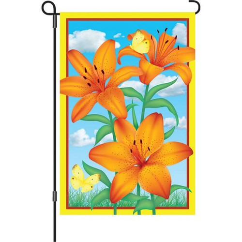 12 In Flag Tiger Lily Pro Kites Usa