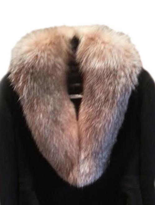 faff2533fae SAGA Crystal Fox Fur Collar - VFurs.com