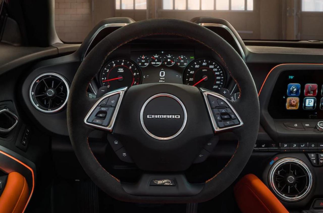 Camaro Hot Wheels Edition Steering Wheel General Motors