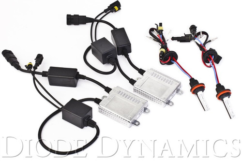 Base Headlamp HID Conversion Kit 2014-2017 - Diode Dynamics