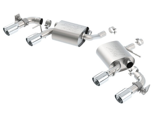 Camaro LS/LT 3.6L Axle-Back Exhaust - Borla Exhaust