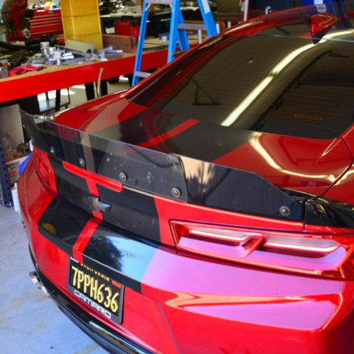 Camaro Stealth 2-Piece Style Wicker Bill - ZL1 Addons