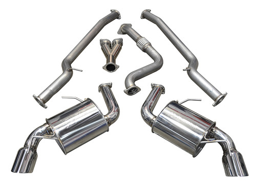 "Camaro 2.0T LTG 3"" Cat-Back Exhaust System - Injen"