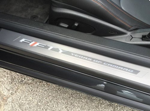 Camaro Fifty Edition Illuminated Door Sill Kit - General Motors