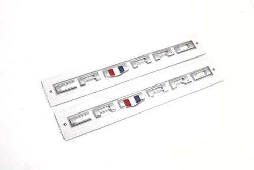 Camaro Chrome Fender Emblems (2) - General Motors