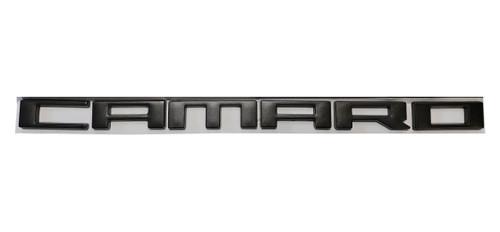 Camaro Matte Black Emblem(s) - Wildhammer