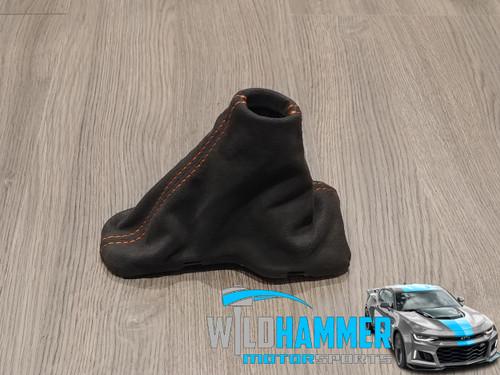 Camaro Hot Wheels Automatic Shift Boot (Alcantara W/ Orange Stitching) - General Motors