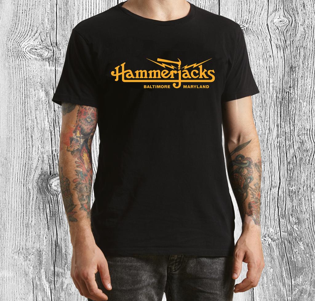 Official Hammerjacks Black T-Shirt