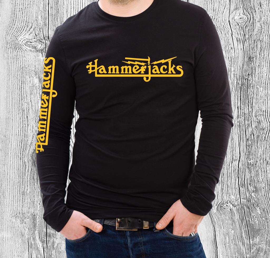 Hammerjacks Long Sleve Black T Shirt