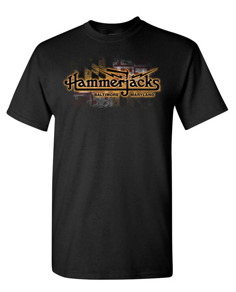 Hammerjacks Maryland Flag T-Shirt