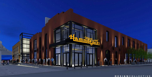 Hammerjacks partners seek arena liquor license