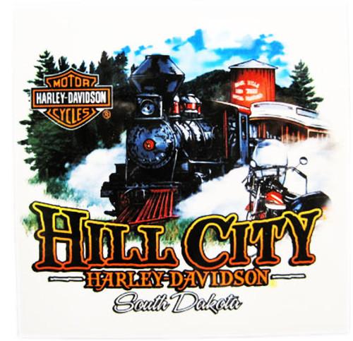 Hill City Harley-Davidson® 1880 Train Ceramic Coasters