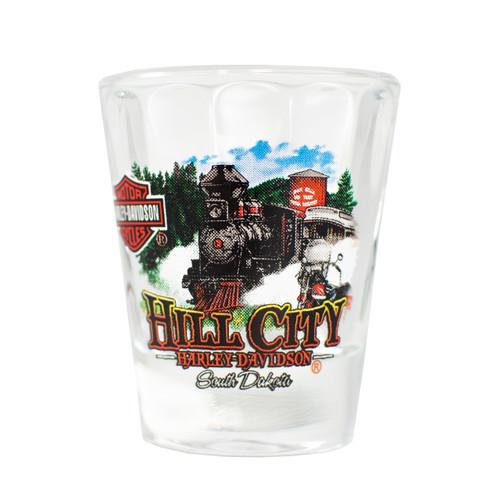 Hill City Harley-Davidson® 1880 Train Shot Glass Short