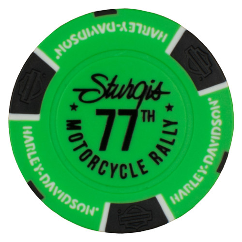 2017 Sturgis Harley-Davidson® 77th Rally Poker Chip