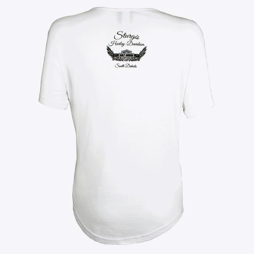 Sturgis Harley-Davidson® Women's Quality Eagle Dolman Shirt