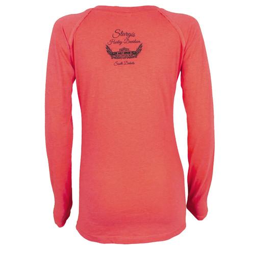 Harley-Davidson® Women's Lattice Long Sleeve Shirt