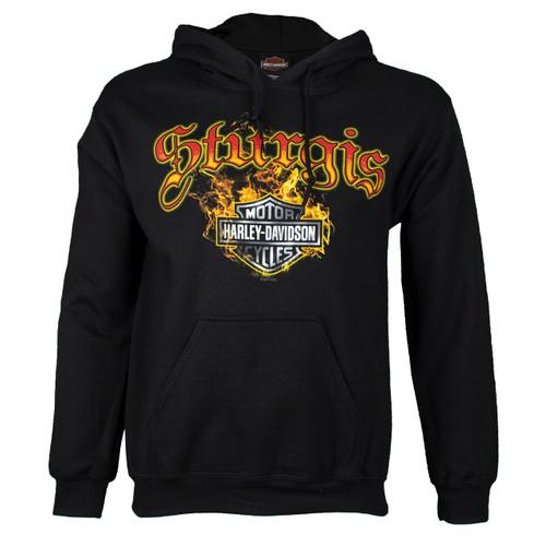 Sturgis Harley-Davidson® Men's Skull Edgy Pullover Hoodie Sweatshirt