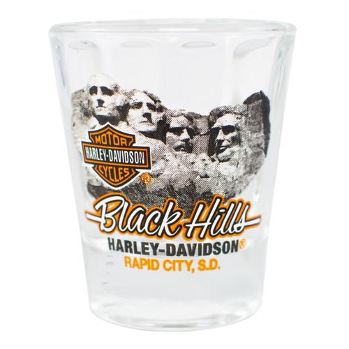Black Hills Harley-Davidson® Mt. Rushmore Short Shot Glass
