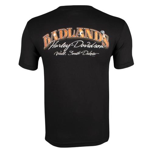 Badlands Harley-Davidson® Men's Badlands Skull T-Shirt
