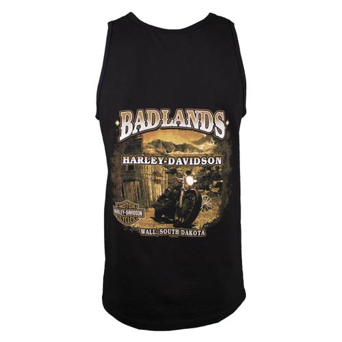 Badlands Harley-Davidson® Men's Thenadays Black Tank Top