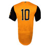 Abejas Authentic Jersey - NoveltyCollectiblesMemorabilia - Salt Lake Bees - 10 - Gold -