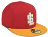 Salt lake City Series 5950 - HeadwearFittedMens - Salt Lake Bees -  - Red - Vendor Name