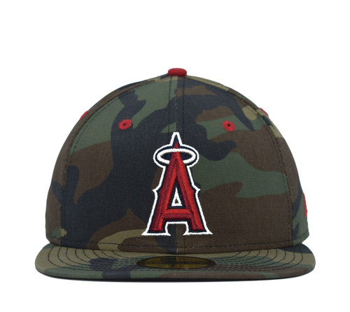 Camo 5950  - HeadwearFittedMens - Los Angeles Angels - - Camo - New Era