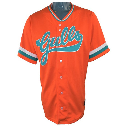 Salt Lake Gulls Event Jersey  - MensApparelJerseys - Salt Lake Gulls - - Orange - OT Sports