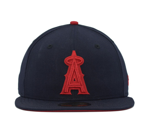 Team Reverse 5950  - HeadwearFittedMens - Los Angeles Angels - - Navy - New Era