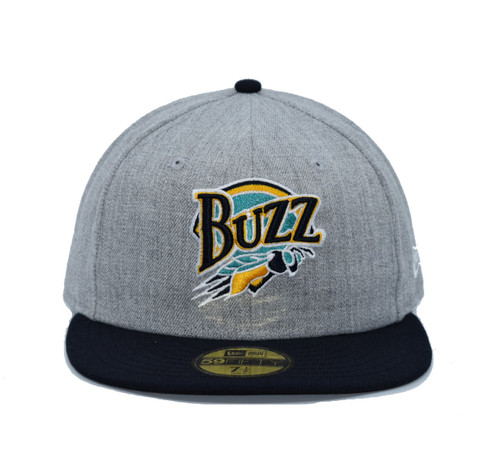 Fitted 2 Tone Heather Team Color Core 5950  - HeadwearFittedMens - Salt Lake Buzz - - Gray - New Era
