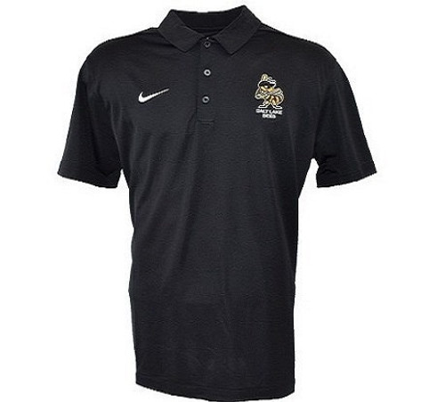 Dri Stock Polo - MensApparelPolos - Salt Lake Bees - - Black - BSN Sports
