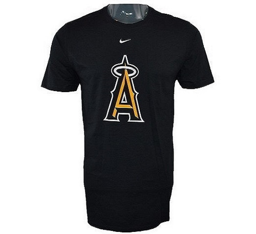 Salt Lake Angels Event Tee  - MensApparelTees - Los Angeles Angels - - Black - BSN Sports