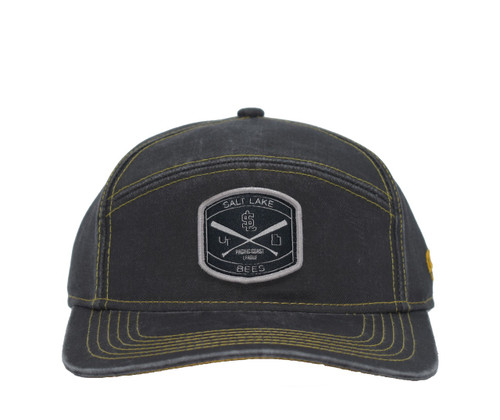 Legend Hat  - HeadwearAdjustableSnapbackMens - Salt Lake Bees - - Gray - Outdoor Cap