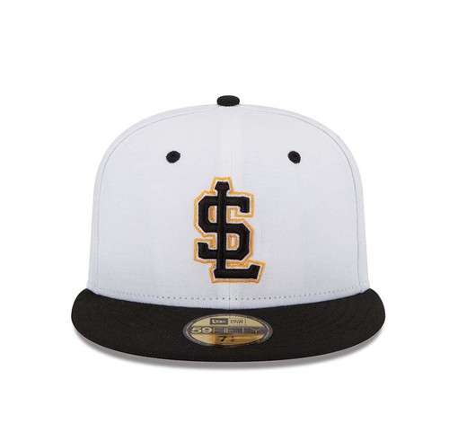 AC Alternate 1 5950  - HeadwearFittedMens - Salt Lake Bees - - White - New Era