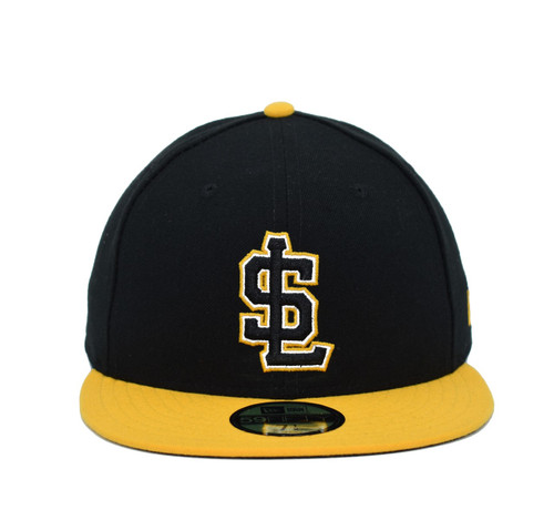 Las Abejas 5950  - HeadwearFittedMens - Salt Lake Bees - - Black - New Era