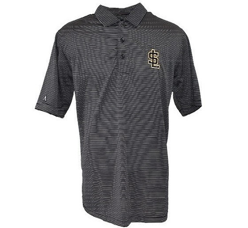 Quest Comtemporary Polo  - MensApparelPolos - Salt Lake Bees - - Black - Antigua