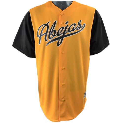 Abejas Specialty Jersey  - MensApparelJerseys - Salt Lake Bees - - Gold - Majestic