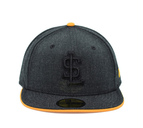 Heather Black 5950  - HeadwearFittedMens - Salt Lake Bees - - Charcoal - New Era