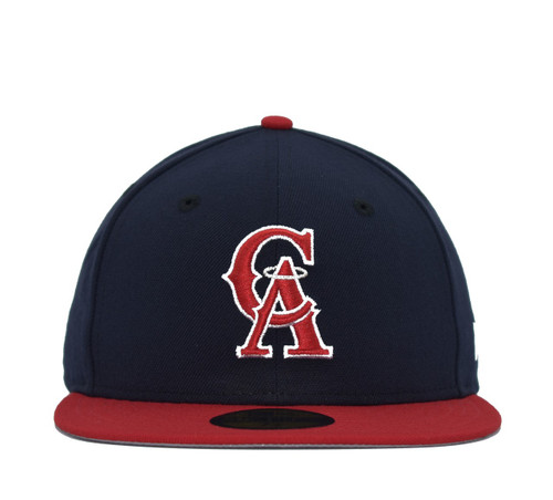2T Coop CA 5950  - HeadwearFittedMens - Los Angeles Angels - - Navy - New Era
