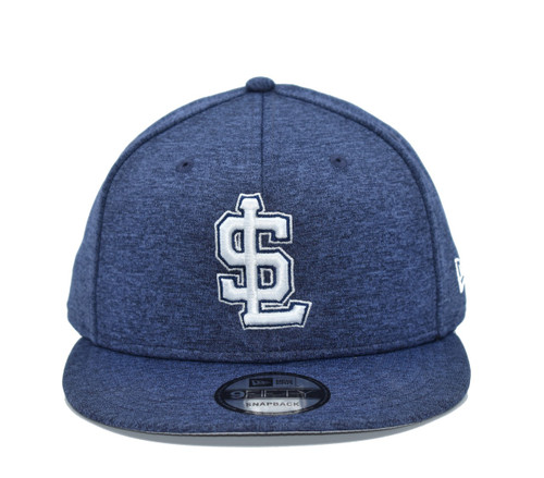Navy Shadow Tech 950  - HeadwearAdjustableSnapbackMens - Salt Lake Bees - - Navy - New Era