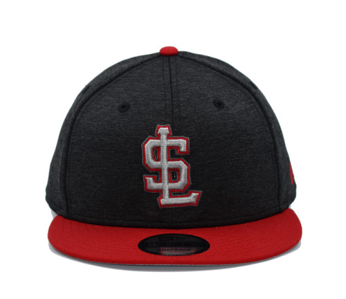 Shadow Tech Red 950  - HeadwearAdjustableSnapbackMens - Salt Lake Bees - - Black - New Era
