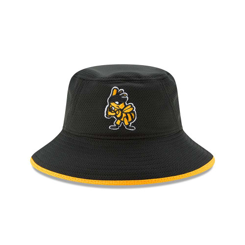 Hex Team Bucket  - HeadwearStretchMens - Salt Lake Bees - - Black - New Era